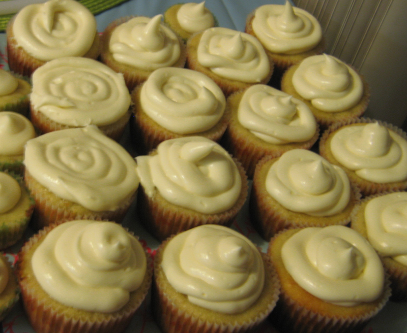 Banana-Nut Cupcakes With Maple Frosting Recipes — Dishmaps